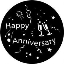 Rosco 71061 Happy Anniversary Gobo
